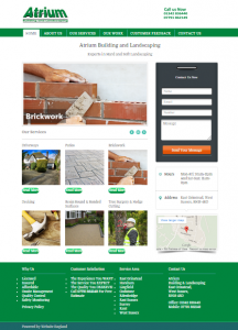 Website to landscaping Company