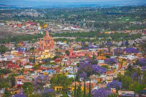 San Miguel aerial view